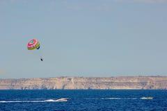 Parachute Malte Photographie stock