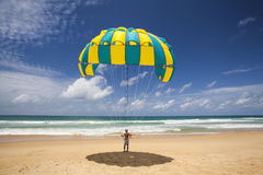 Parachute Man Royalty Free Stock Image