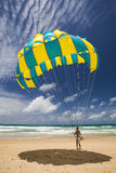 Parachute Man Royalty Free Stock Image