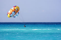 Parachute mexico Royalty Free Stock Image