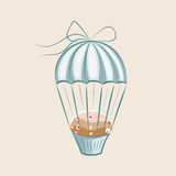 Parachute Muffin Stock Photo