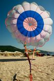 Parachute On Sea Beach Royalty Free Stock Images