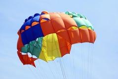 Parachute. parasailing. parasailing clipart Stock Image