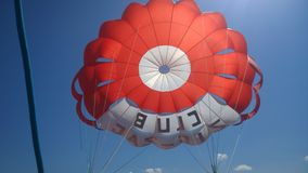 Parachute sailing Stock Photos