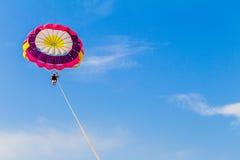 Parachute Sailing Woman Stock Photos