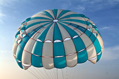 Parachute in the sky Stock Images