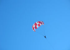 Parachute in the sky Stock Image