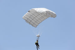 Parachute soldiers in the sky,. Japan Self Defense Forces Stock Photography
