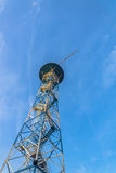 Parachute tower in Katowice Stock Photo