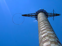 Parachute training tower Stock Images