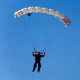 Parachuter Royalty Free Stock Photo