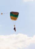 Parachuter Stock Images