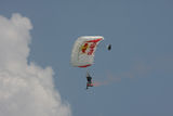 Parachuter Royalty Free Stock Photos