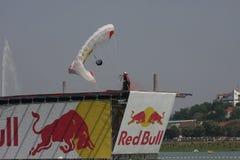 Parachuter Stock Photo