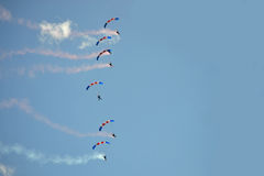 Parachuters Royalty Free Stock Images