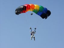 Parachutes Stock Photography