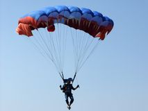 Parachutes Photo stock