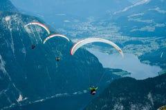 Parachutes Image libre de droits