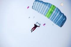 Parachutes Images libres de droits