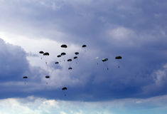 Parachutes Stock Image