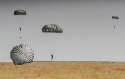 Free Parachutes In The Air Show Royalty Free Stock Photos - 91392008
