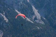 parachuting Στοκ Εικόνα