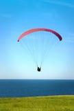 parachuting Imagens de Stock Royalty Free