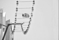 parachuting arkivbild