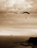 Parachuting Royalty Free Stock Photos