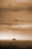 Parachuting Royalty Free Stock Photography