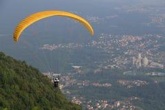 Parachuting activity Stock Photos