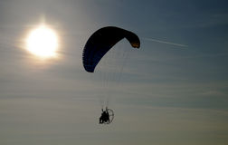 Parachuting Stock Photography