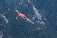 Parachuting Stock Image