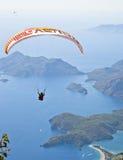 Parachuting Royalty Free Stock Images