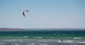 Parachuting sport Stock Image