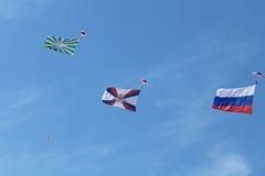 Parachuting Stock Photos