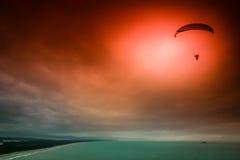 Parachutisme spectaculaire photo libre de droits