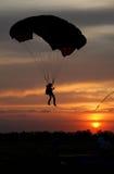 parachutist Стоковые Фотографии RF