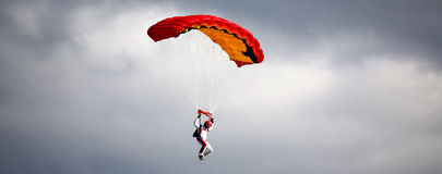 Parachutist Stockfotos