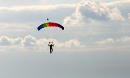 Parachutist. European Aerobatic Championship Royalty Free Stock Photography