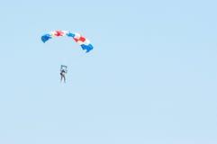 Parachutist Imagens de Stock