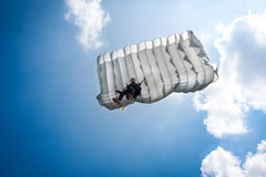 Parachutist Stock Photo