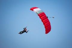 Parachutist Royalty-vrije Stock Foto's