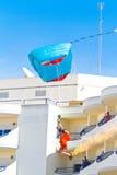 Parachutist Стоковое Изображение