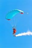 Parachutist Стоковое Фото