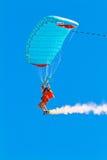 Parachutist Стоковое фото RF
