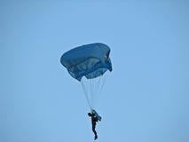 Parachutist Immagini Stock