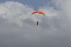 parachutist arkivbilder