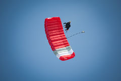 Parachutist Royalty Free Stock Photos