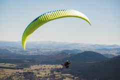 Parachutist bluza fotografia stock